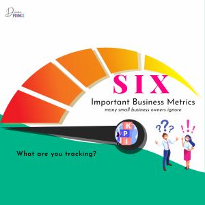 6 business metrics to track